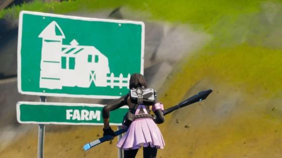 Fortnite: Encuentra el gnomo oculto entre una pista de carreras, un huerto y letrero de una granja