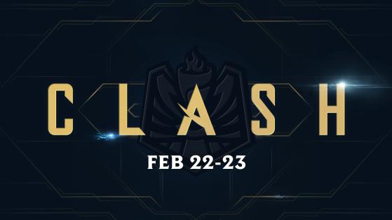 LoL: La primera jornada oficial de Clash tendrá lugar entre el 22 y el 23 de febrero