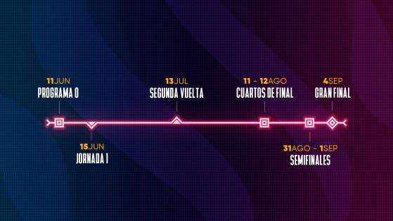 Calendario de la SLO Summer 2020. - League of Legends