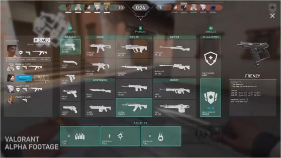 La economía es vital, pero más sencilla que en Counter-Strike - Valorant