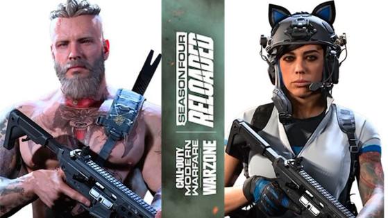 Modern Warfare Warzone: Un casco con orejitas de gato y un vikingo, entre los 42 nuevos packs de CoD