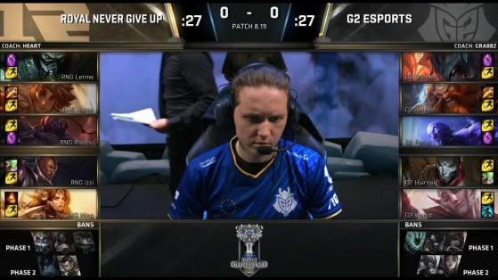 Incluso en uno de  los cruces más complicados, G2 Esports fue capaz de pasar a semifinales - League of Legends