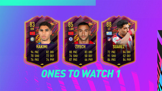 FUT 21: Ones To Watch 1, los mejores fichajes del verano, también en FIFA 21