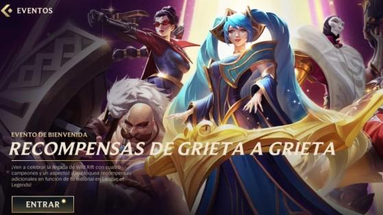 Wild Rift: Recompensas De Grieta a Grieta el evento que premia serle fiel a Riot Games