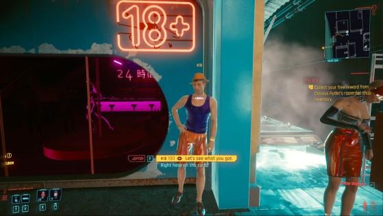 Muñeca masculino - Cyberpunk 2077