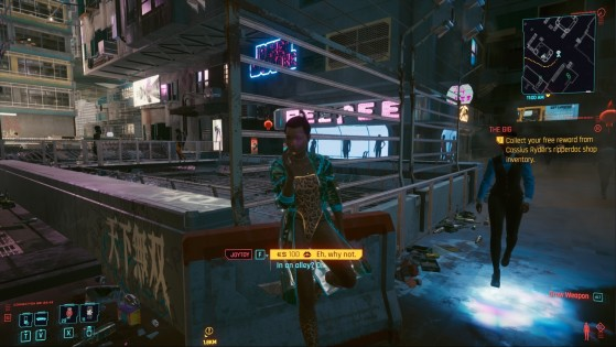 Muñeca femenina - Cyberpunk 2077