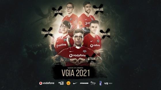 LoL: Vodafone Giants presenta su plantilla para 2021 con Attila como cabeza de cartel