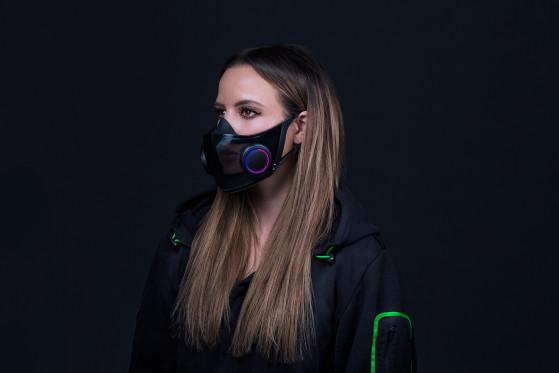 Razer anuncia sus mascarillas reutilizables y... sí, tienen iluminación RGB