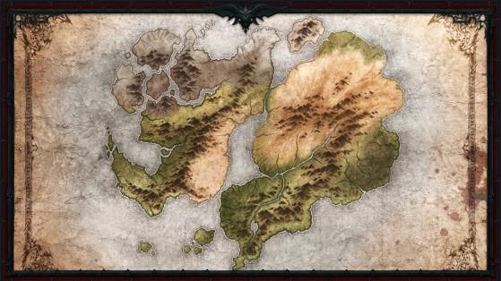 Diablo Immortal: Mapa y lista de zonas del mundo abierto