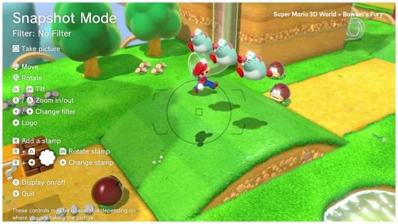Modo Foto de Super Mario 3D World - Millenium