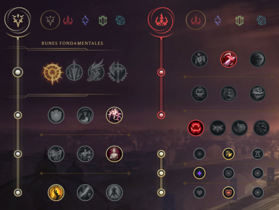 Unas runas sin demasiado donde elegir - League of Legends