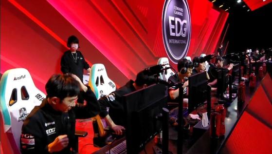 LoL: Scout, Viper y Meiko llevan a EDG a una inapelable victoria sobre Top Esports en playoffs