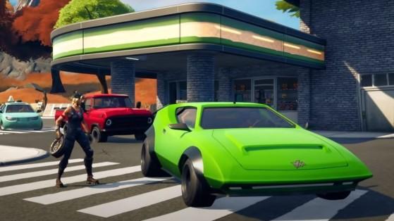 Fortnite: Modifica vehículos con neumáticos todoterreno, desafío Semana 5, Temporada 6