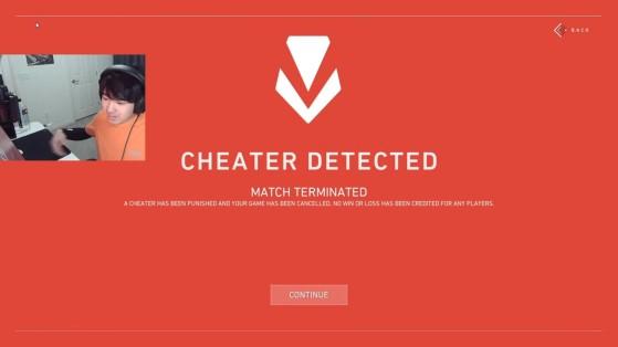 Valorant: Un streamer queda retratado en directo como hacker, y esta fue su particular reacción