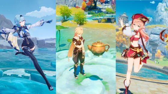 Genshin Impact versión 1.5: Fecha y detalles de Eula, Yanfei, banners, una casa que decorar, Inazuma