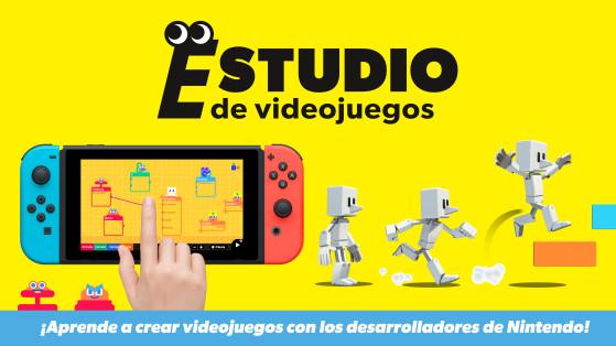 Estudio de videojuegos es el juego de hacer juegos para Nintendo Switch: primer tráiler y detalles