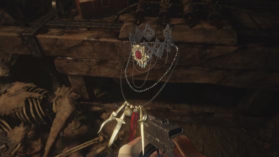 Resident Evil Village: ¿Cómo combinar el collar incompleto y venderlo por muchos Lei?