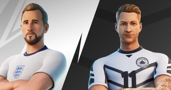Fortnite: Los futbolistas Kane y Reus se cuelan en la Serie de Ídolos con sus propias skins