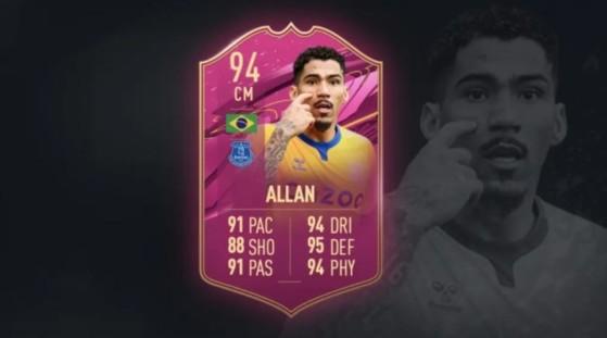 FIFA 21 Allan FUTTIES SBC: soluciones baratas para conseguir al ancla defensiva del Everton