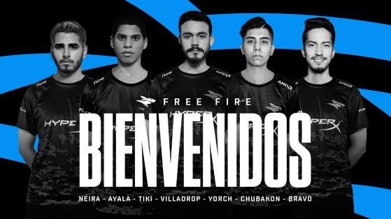 Free Fire League Clausura: Isurus presenta equipo renovado con ex-jugadores de Team Aze