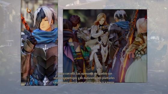 Los skits han cambiado, y los personajes al fin aparecen con apariencis personalizadas - Tales of Arise
