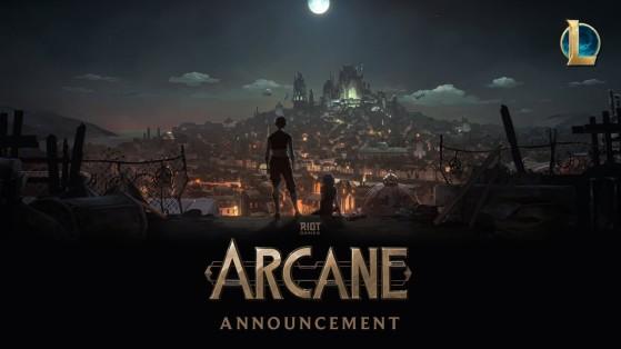 LoL: Arcane, serie animada, League of Legends, Riot Games