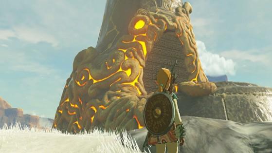 Zelda BotW, todos los santuarios: región de Torre de Lago