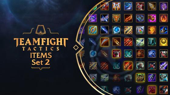 TFT: objetos e itemizaciones del parche 9.24b, Set 2 de Teamfight Tactics