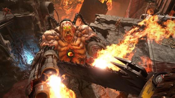 En Doom Eternal podremos centrar el arma para aumentar el frenetismo