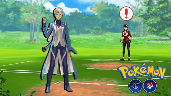Pokémon GO PvP, combate contra Blanche y entrenamiento
