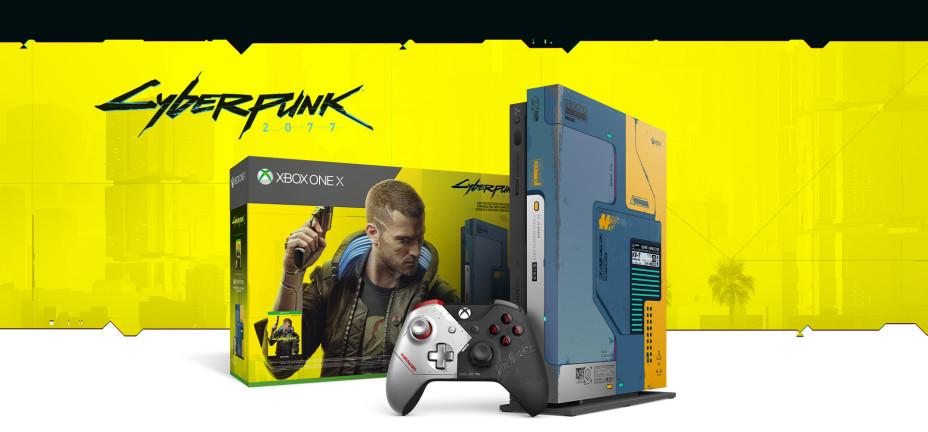 Corre, que vuelan: Xbox One X edición limitada de Cyberpunk ...