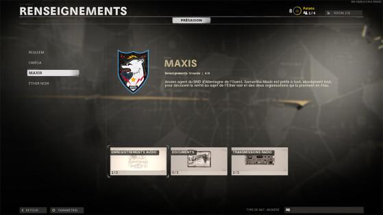 Black Ops Cold War: Cómo encontrar toda la información Maxis del modo Zombis, guía