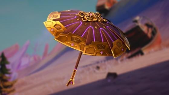 Fortnite - Temporada 5: Así es el nuevo paraguas de la victoria. ¡Parece mitológico!
