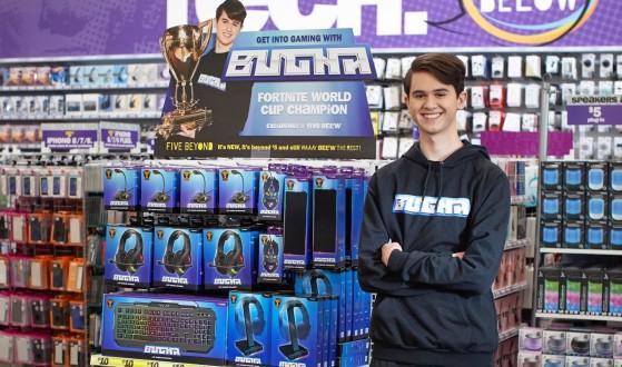 Fortnite: Bugha, el Campeón del Mundo, seguirá dos años más agrandando su leyenda en Sentinels