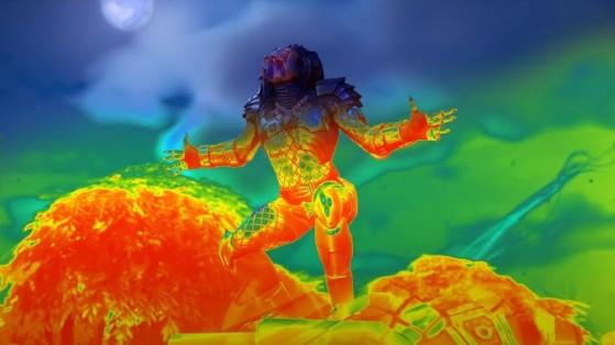 Fortnite: Inflige daño con la tecnología térmica activa como Depredador, desafío