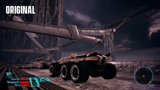 Comparativa de Mako - Mass Effect original - Millenium