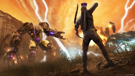 Marvel's Avengers: Fecha de lanzamiento del parche de PS5 y Xbox Series, y del DLC de Ojo de Halcón