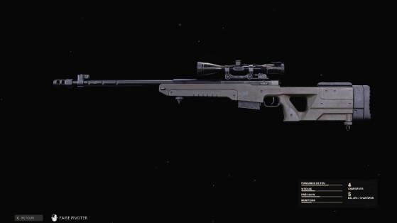 Black Ops Cold War: La mejor clase del LW3 - Tundra, el francotirador definitivo