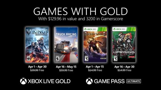 Juegos gratis con Gold de abril de 2021: 4 juegos mediocres para una ventaja que se desangra