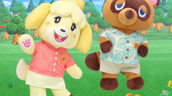 Build a Bear de Animal Crossing New Horizons: Así son los peluches de Canela y Tom Nook disponibles