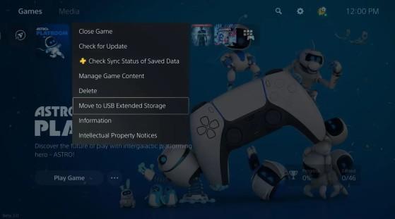 PS5: Con la actualización de abril, será posible ampliar la capacidad de almacenamiento de PS5