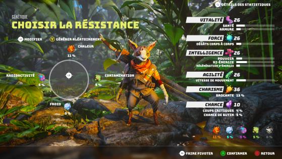 Elige tu resistencia - Biomutant