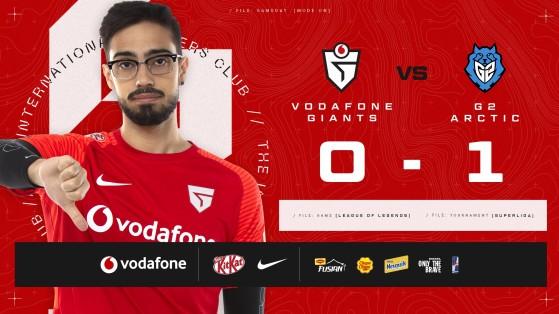 LoL: Vodafone Giants frente al abismo en Superliga; un desastre sin casi tiempo para reaccionar