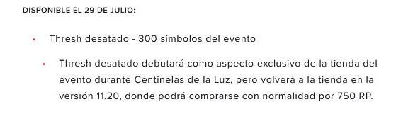 Riot lo hizo oficial en su información sobre Centinelas de la Luz - League of Legends