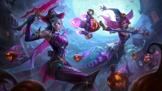 Fiora y Nami embrujadas - League of Legends