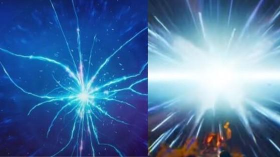 La mariposa se materializó dos veces en el Capítulo 2: al final del concierto de Travis Scott y después del evento Eater of Worlds con Galactus. - Fortnite : Battle royale