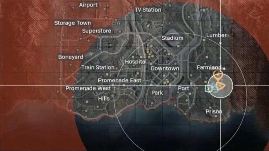 Call Of Duty Modern Warfare Warzone El Mapa Ubicaciones Areas