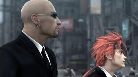 Final Fantasy VII Remake: Combate contra Reno y Rude
