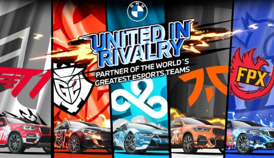 BMW se une a T1, Cloud9, Fnatic, G2 y FunPlus Phoenix para hacer crecer los esports