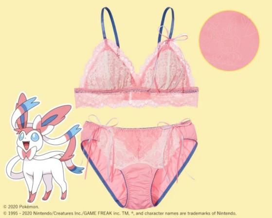 Pokémon Girls: La línea de lencería de Pokémon - Millenium